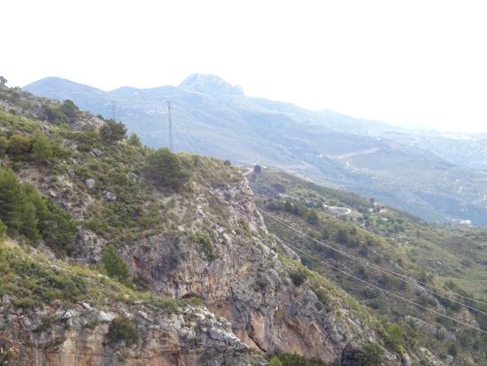 Vélez de Benaudalla, España: Stunning scenery