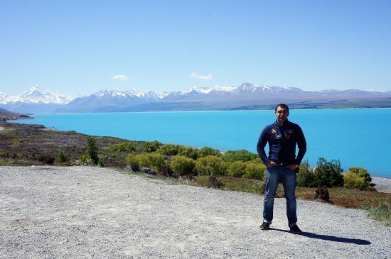 Canterbury Region, Nueva Zelanda: на озере Пукаки