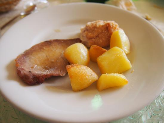 La Fontana: manca il terzo piatto di carne che ha risollevato le pecche di questo.