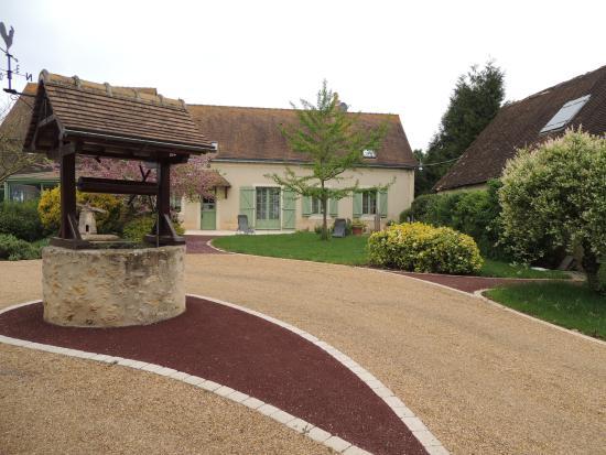 Très belle entrée de la maison d\'hôtes.... - Photo de La Ferme ...