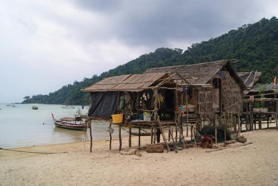 Khuraburi, تايلاند: Le village Moken