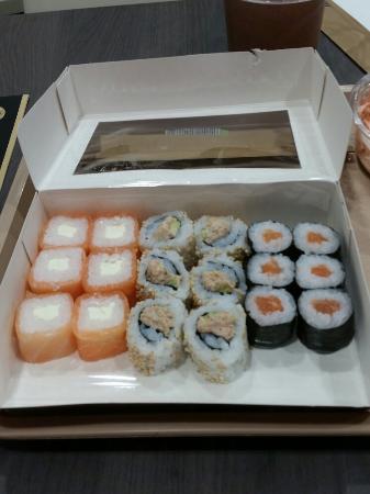 Sushi & More Auchan Kirchberg