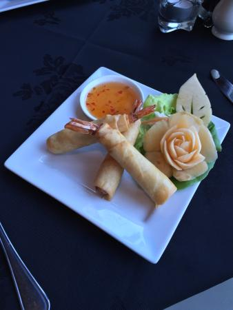 Widnes, UK: Goong Hom Pha (Prawn in Blankets)