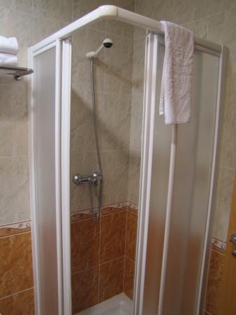Hotel Las Tablas: Zona de ducha.
