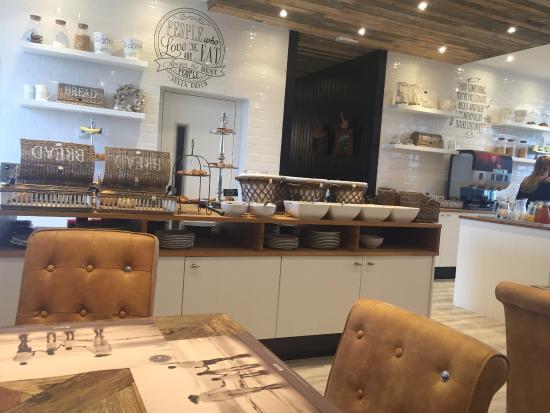 Westende, Belgien: Breakfast Buffet
