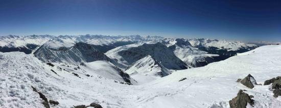 Randa, Suiza: Pohled na Švýcarské Alpy