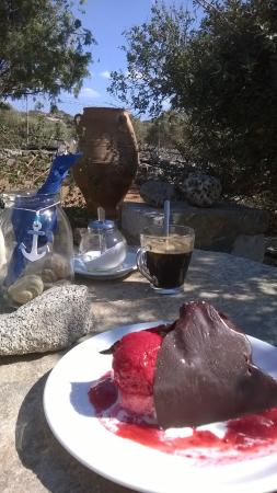 Elounda Island Villas: delicious ice cream