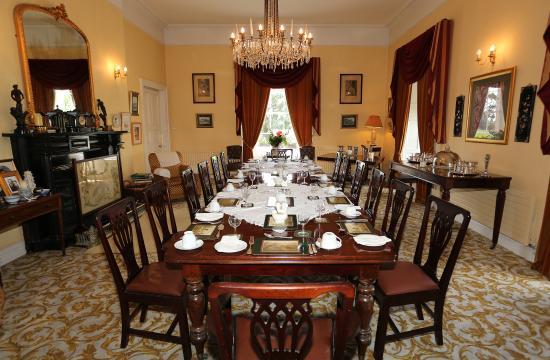 Blanchville House: Blanchville- Dinning Room