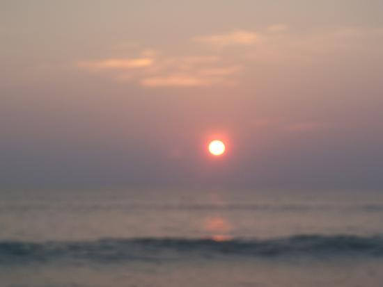 เขาหลัก ออร์คิด บีช รีสอร์ท: Sunset from the Verve Restaurant. Awesome!