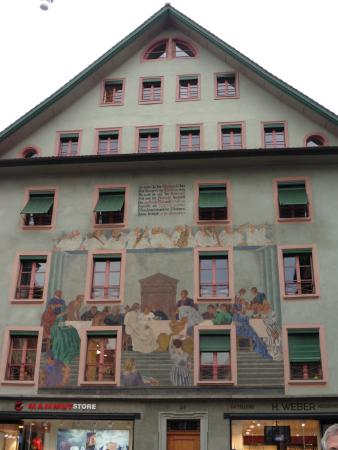 Old Town Lucerne: Site in same square where Passion plays are performed.
