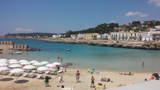 La spiaggia di Santa Maria al Bagno - Foto di B&B Vistabella.it ...