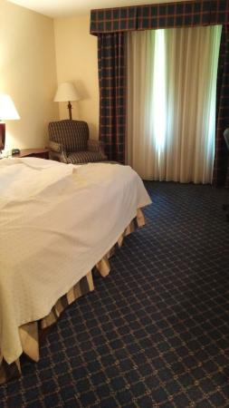 Boxborough, MA: Rooms were good. Comfy bed w/ huge pillows. Bathroom a little under kept with dirty grout & sham