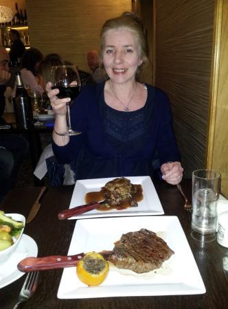Amazing steaks!