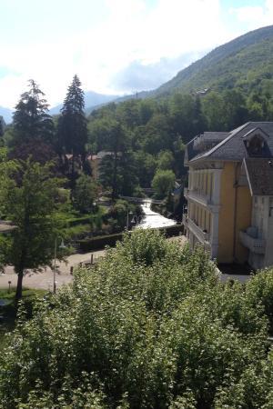 Brides-les-Bains, Francja: Vue de la chambre