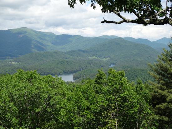 Snowbird Mountain Lodge: View from Sunrise Trail
