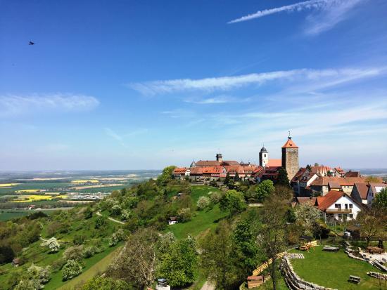 Waldenburg, ألمانيا: Blick auf das Schloss