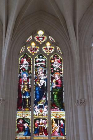 Rigny-Usse, Francja: Vitral da Capela