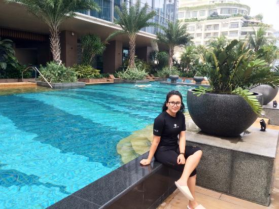 Ready for swim