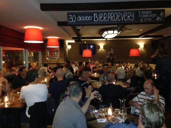 ฮุฟด์ดอร์ป, เนเธอร์แลนด์: Bier-spijs proeverij