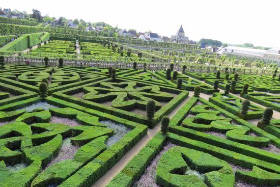 Villandry, Francia: Vista do Jardim