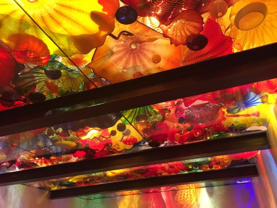 Roof glass picture of chihuly garden and glass seattle - Chihuly garden and glass discount tickets ...