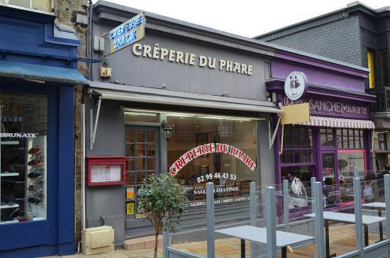 Creperie du Phare: facade de la Créperie