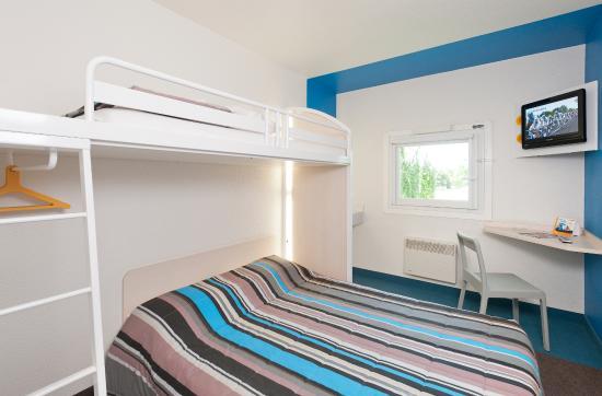 Hotel F1 Nice Villeneuve Loubet: CHAMBRE TRIO (UNE, DEUX OU TROIS PERSONNES)