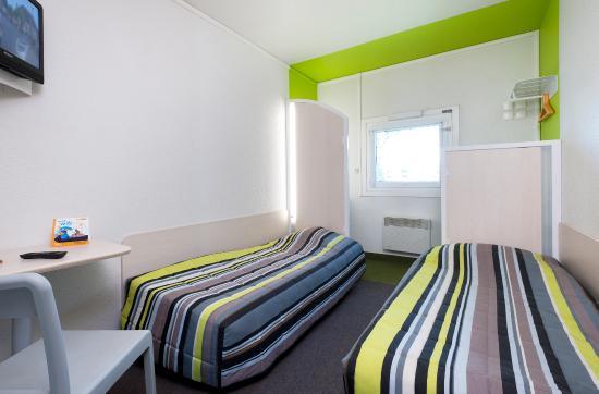 Hotel F1 Nice Villeneuve Loubet: CHAMBRE DUO (UNE OU DEUX PERSONNES)