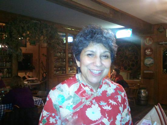 Deming, WA: This is the warm and friendly smile that greets guests at the North Fork.
