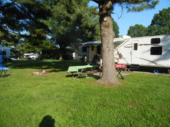 Kentucky Horse Park Campground: Lots of trees for shade