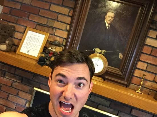Ρούζβελτ, Γιούτα: Roosevelt selfie