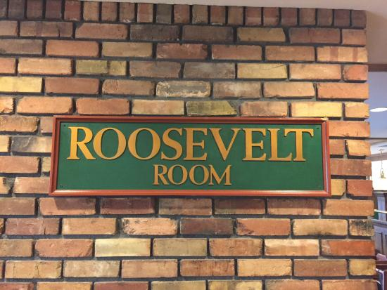Let's pretend this is the Roosevelt room :)