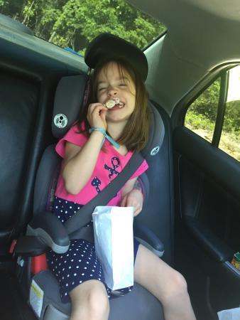 Lake's Fudge Shop: My kiddos love the taffy!!