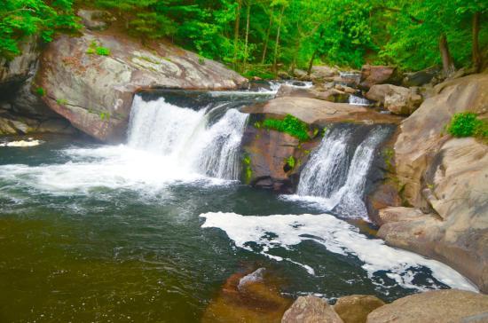 Robbinsville, Carolina del Norte: Baby Falls