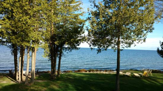 Egg Harbor, WI: Just one, of many, gorgeous views from The Shallows.