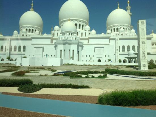 إمارة أبو ظبي, الإمارات العربية المتحدة: Moschea di Abu Dhabi