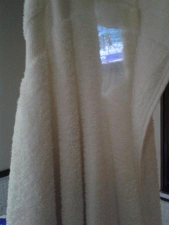 Manhattan Broadway Hotel: See-through Towel