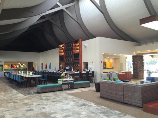 Seamless Access To Lydgate Park From The Hilton Picture Of Hilton Garden Inn Kauai Wailua Bay