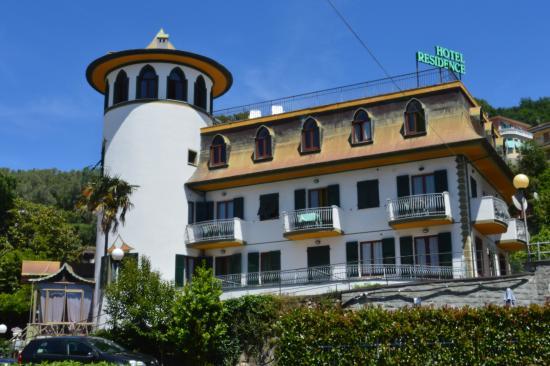 front view foto di residence hotel moneglia moneglia