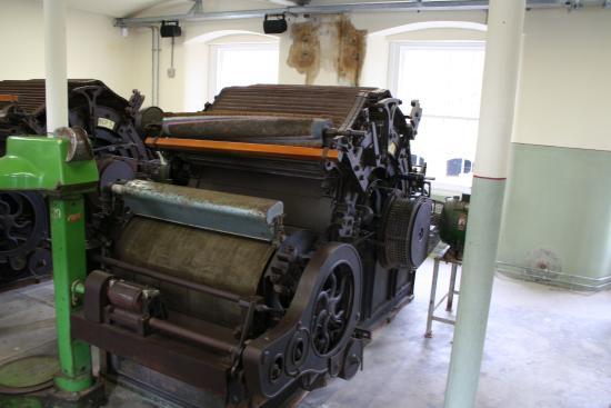 Perth, UK: Stanley Mills Equipment