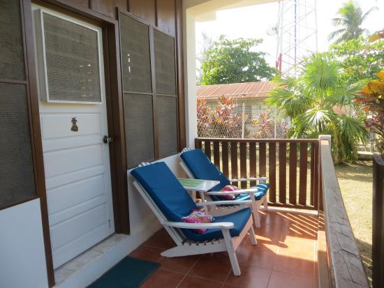 Sarteneja, Belize: The balcony