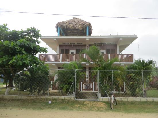 Sarteneja, Belize: The front view of The Guest house