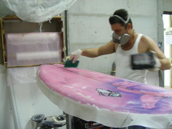 Pavones, Costa Rica: At the factory