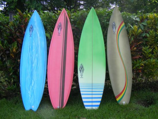 Pavones, Costa Rica: Some of the boards