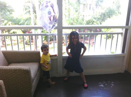 Wyndham Cypress Palms: varanda/sacada