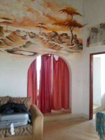 Jambo House Resort: Particolare del paesaggio di Watamu personalizzato da Michele