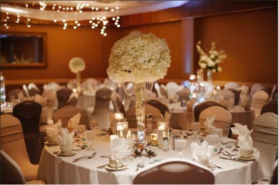 Wisconsin Rapids, WI: ballroom setup