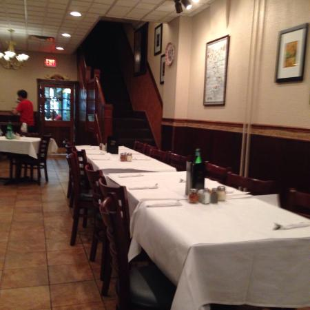 Shenandoah, PA: Interior of Francesco's