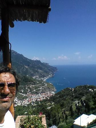 Ristorante Raffaele dell'Hotel Parsifal: vista dal patio del ristorante...