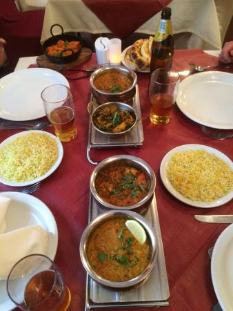 Takeaway menu and a few inside pictures pride of bengal for Arman bengal cuisine dinas menu